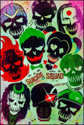 """Movie Posters:Action, Suicide Squad (Warner Brothers, 2016). Rolled, Near Mint. One Sheet(27"""" X 40"""") DS, Advance Skull Style. Action.. ..."""