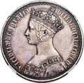 "Great Britain, Great Britain: Victoria Proof ""Gothic"" Crown 1847 PR55 NGC,..."