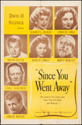 """Movie Posters:Drama, Since You Went Away (United Artists/Selznick Releasing,1944/R-1956). Folded, Fine+. One Sheets (2) (27"""" X 41"""") 2 Styles.Dr... (Total: 2 Items)"""