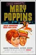"""Movie Posters:Fantasy, Mary Poppins & Other Lot (Buena Vista, R-1973). Folded, VeryFine+. One Sheets (4) (27"""" X 41""""). Style A. Fantasy.. ... (Total: 4Items)"""