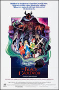 """Movie Posters:Animation, The Black Cauldron & Other Lot (Buena Vista, 1985). Folded, Very Fine/Near Mint. One Sheets (2) (27"""" X 41""""). Animation.. ... (Total: 2 Items)"""