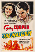 """Movie Posters:War, The Real Glory (United Artists, 1939). Fine+ on Linen. OtherCompany One Sheet (27"""" X 41""""). War.. ..."""