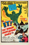 Movie Posters:Science Fiction, It! The Terror from Beyond Space (United Artists, 1958). F...