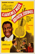 Movie Posters:Drama, Broken Strings (International Road Shows, 1940). Folded, V...