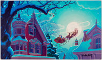 Greg and Tim Hildebrandt The Night Before Christmas Pages 20-21 Original Art (Western Publishing, 1981)