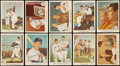 Baseball Cards:Sets, 1959 Fleer Ted Williams Baseball Complete Set (80). ...