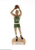 Basketball Collectibles:Others, Salvino Collection Larry Bird Jump Shot Away Signed Statue....