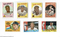 Baseball Cards:Lots, 1959-65 Fleer, Post & Topps Baseball Group Lot of 526....