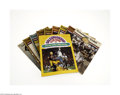 Football Collectibles:Programs, 1969 Dallas Cowboys Game Day Programs Lot of 10....