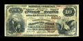 National Bank Notes:West Virginia, Parkersburg, WV - $10 1882 Brown Back Fr. 490 The Farmers &Mechanics NB Ch. # 5320. ...