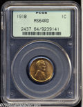 "Lincoln Cents: , 1910 1C MS64 Red PCGS. The current Coin Dealer Newsletter (Greysheet) wholesale ""bid"" price is $25.00...."