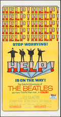 """Movie Posters:Rock and Roll, Help! (United Artists, 1965). Folded, Very Fine-. Three Sheet (41""""X 79""""). Rock and Roll.. ..."""