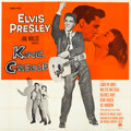 """Movie Posters:Elvis Presley, King Creole (Paramount, 1958). Folded, Very Fine+. Six Sheet (79"""" X80"""").. ..."""