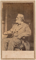 "Photography:CDVs, Robert E. Lee: ""Back Door"" Carte-de-Visite [CDV] by Anthony/Brady...."
