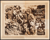 "The Cobbler (Pathé, 1923). Folded, Fine+. Lobby Card (11"" X 14""). Our Gang Comedy"