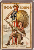 Movie Posters:War, World War I Propaganda (U.S. Government Printing Office, 1917).Very Good on Board. Third Liberty Loan Full-Bleed Poster (20...