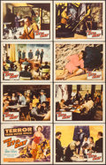 """Movie Posters:Science Fiction, The 27th Day (Columbia, 1957). Fine/Very Fine. Lobby Card Set of 8 (11"""" X 14""""). Science Fiction.. ... (Total: 8 Items)"""