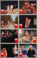 """Movie Posters:Horror, The Brotherhood of Satan & Other Lot (Columbia, 1971).Fine/Very Fine. Lobby Card Sets of 8 (3 Sets) (11"""" X 14""""). Horror..... (Total: 24 Items)"""