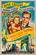 """Movie Posters:Comedy, A Connecticut Yankee in King Arthur's Court (Paramount, 1949).Folded, Fine/Very Fine. One Sheet (27"""" X 41""""). Comedy...."""