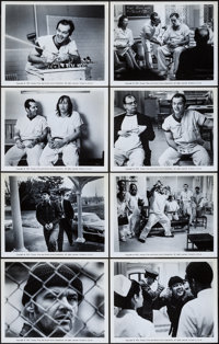 """One Flew Over the Cuckoo's Nest (United Artists, 1975). Overall: Very Fine-. Photos (13) (8"""" X 10""""). Academy A..."""
