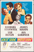 "Movie Posters:Drama, East Side, West Side & Other Lot (MGM, 1950). Folded, Very Fine-. One Sheets (2) (27"" X 41""). Drama.. ... (Total: 2 Items)"