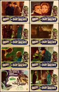 """Movie Posters:Horror, The Body Snatcher (RKO, 1945). Fine-. Lobby Card Set of 8 (11"""" X 14"""").. ... (Total: 8 Items)"""