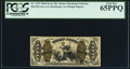 Fractional Currency:Third Issue, Fr. 1343 50¢ Third Issue Justice PCGS Gem New 65PPQ.. ...