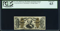 Fractional Currency:Third Issue, Fr. 1337 50¢ Third Issue Spinner PCGS Choice New 63.. ...