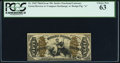 Fractional Currency:Third Issue, Fr. 1365 50¢ Third Issue Justice PCGS Choice New 63.. ...
