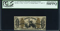 Fractional Currency:Third Issue, Fr. 1348 50¢ Third Issue Justice PCGS Choice About New 58PPQ.. ...