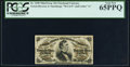 Fractional Currency:Third Issue, Fr. 1298 25¢ Third Issue PCGS Gem New 65PPQ.. ...