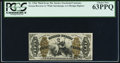 Fractional Currency:Third Issue, Fr. 1366 50¢ Third Issue Justice PCGS Choice New 63PPQ.. ...