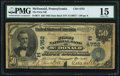 National Bank Notes:Pennsylvania, McDonald, PA - $50 1902 Date Back Fr. 671 The First NB Ch. # (E)4752 PMG Choice Fine 15.. ...