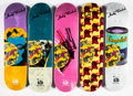 Collectible:Contemporary, The Andy Warhol Foundation X Alien Workshop. Set of Ten Skate Decks, 2010. Screenprints in colors on skate decks. 32 x 8... (Total: 10 Items)