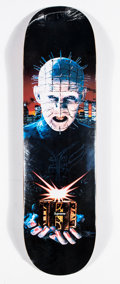Collectible:Contemporary, Supreme . Hellraiser, 2018. Offset lithograph in colors on skate deck. 32 x 8 inches (81.3 x 20.3 cm). Produced by Supre...