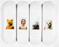 Collectible:Contemporary, Supreme X Mike Kelley. Ahh... Youth!, (eight works), 2018. Offset lithographs in colors on skate decks. 32 x 8 inches (8... (Total: 8 Items)