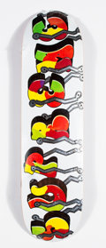 Collectible:Contemporary, Supreme X Blade. Whole Car (White), 2016. Offset lithograph in colors on skate deck. 32 x 8 inches (81.3 x 20.3 cm). Pro...