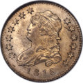 Bust Quarters, 1818/5 25C B-3, R.3, MS65 NGC. This die combinatio...