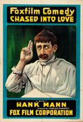"""Movie Posters:Comedy, Chased into Love (Fox, 1917). Folded, Very Fine. One Sheet (28"""" X 41"""").. ..."""