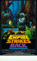 Movie Posters:Science Fiction, The Empire Strikes Back (20th Century Fox, 1982).Rolled, V...