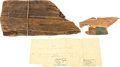 Political:Presidential Relics, Abraham Lincoln: Very Large Split Rail Relic....