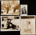 Baseball Collectibles:Photos, 1920's Baseball Movies Photo Collection (4 Pieces) With Rare BabeRuth Photo. ...