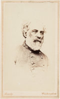 Photography:CDVs, Robert E. Lee: Copy-Image Carte-de-Visite [CDV] of Minnis & Cowell Work....
