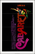 """Movie Posters:Musical, Cabaret (Allied Artists, 1972). Folded, Very Fine-. One Sheet (27"""" X 41""""). Musical.. ..."""