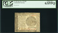 Colonial Notes:Continental Congress Issues, Continental Currency September 26, 1778 $60 PCGS Choice New 63PPQ.....