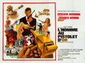 "Movie Posters:James Bond, The Man with the Golden Gun (United Artists, 1974). Folded, Very Fine. French 24 Sheet (156.5"" X 118""). Robert McGinnis Artw..."