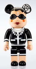 Other:Contemporary, BE@RBRICK X Chanel. Coco Chanel 1000%, 2006. Painted castresin. 28-1/2 x 14-1/2 x 9 inches (72.4 x 36.8 x 22.9 cm). Sta...