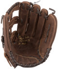 """Baseball Collectibles:Others, Ozzie Smith """"The Wizard of St. Louis"""" Signed Glove. ..."""
