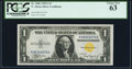 Small Size:World War II Emergency Notes, Fr. 2306 $1 1935A North Africa Silver Certificate. PCGS Choice New 63.. ...