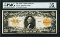Large Size:Gold Certificates, Fr. 1187 $20 1922 Gold Certificate PMG Choice Very Fine 35.. ...